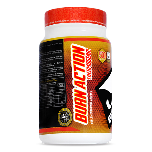 Burn Action Thermogenic Bad Boy | 120 Cápsulas