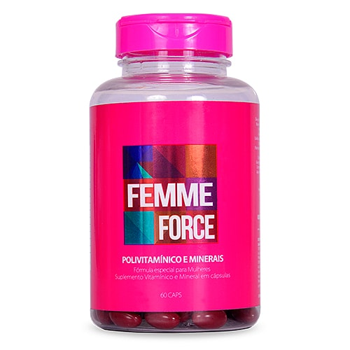 Femme Force Kit 12 meses - Polivitamínico Feminino
