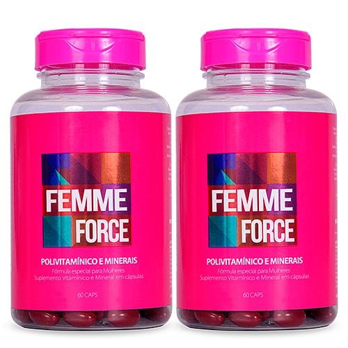 Femme Force Kit 4 meses - Polivitamínico Feminino