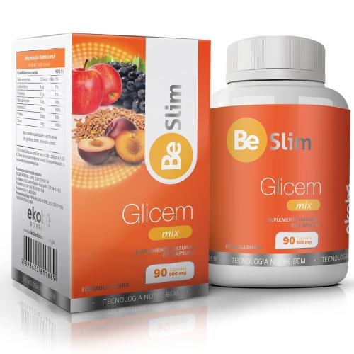 Be Slim Glicem 90 cápsulas