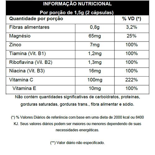 K'psula Prebiótica 60 cápsulas