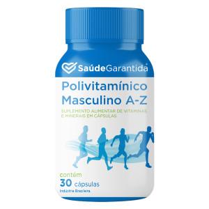 Polivitamínico Masculino de A a Z 30 cápsulas
