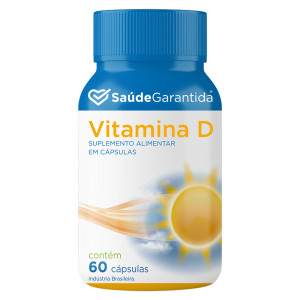 Vitamina D 60 cápsulas