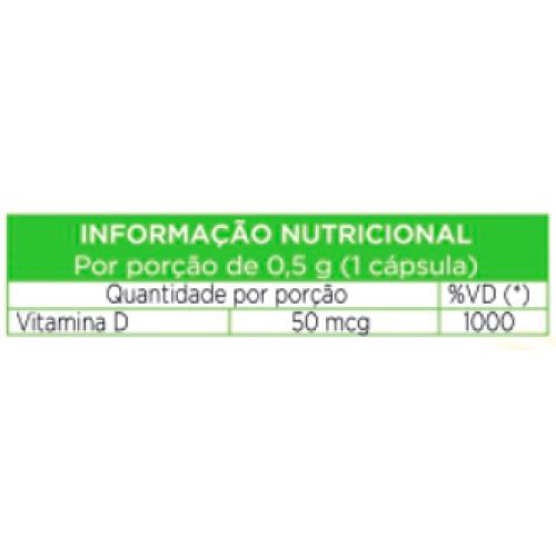 Vitamina D 360 cápsulas