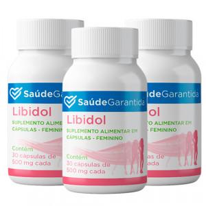 Libidol Feminino 90 cápsulas
