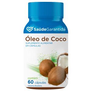 Óleo de Coco 60 cápsulas