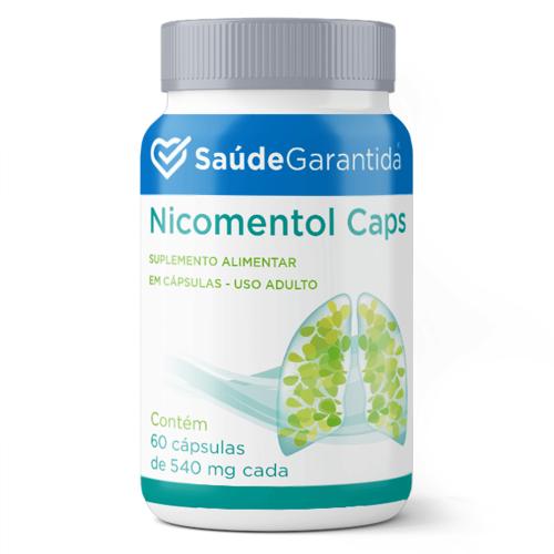 Nicomentol 5 spray + 300 cápsulas