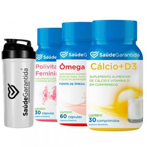 Compre Kit Prevenção Mulher Ganhe Coqueteleira