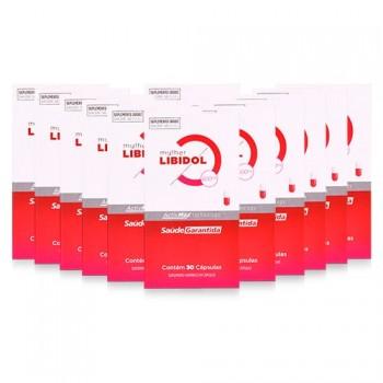 Libidol Estimulante Sexual Feminino - Kit 12 meses