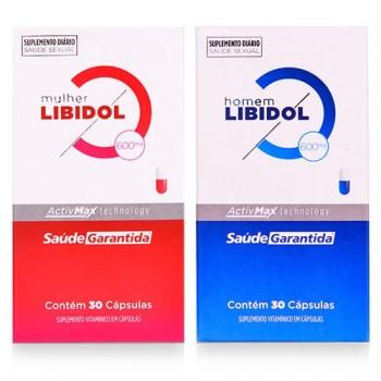 Kit Estimulante Sexual - Libidol Masculino e Feminino