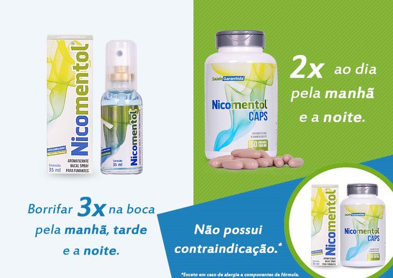 Nicomentol mais Nicocaps