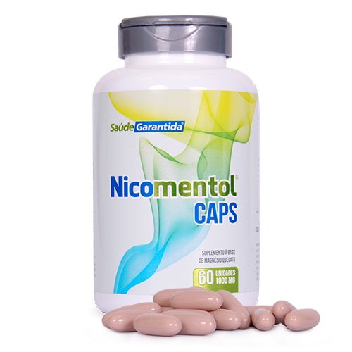 2 Nicomentol Spray + 2 Nicomentol Caps + 6 Ômega 3