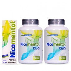 Kit Nicomentol Spray + 2 Nicomentol Caps