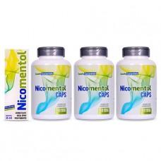 Kit Nicomentol Spray + 3 Nicomentol Caps