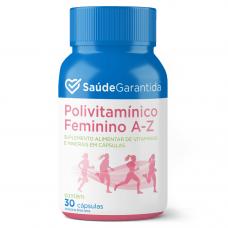 Polivitamínico Feminino de A a Z 30 cápsulas