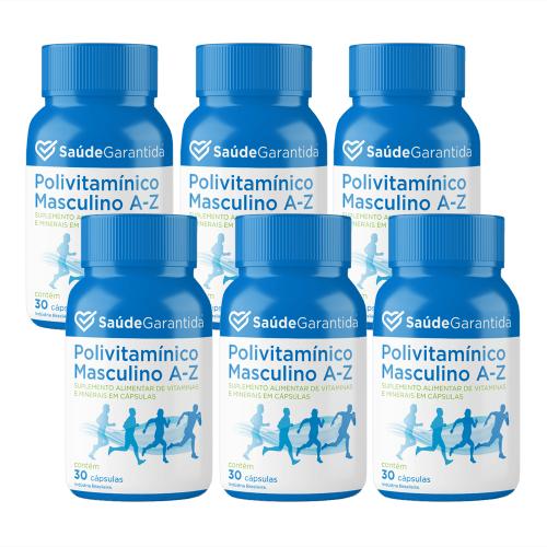 Polivitamínico Masculino de A a Z 180 cápsulas