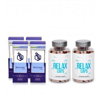 Quelanol e Relax Caps - Tratamento Anti-Álcool
