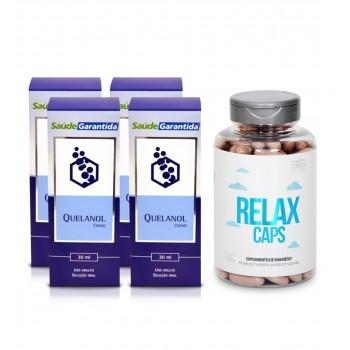 Quelanol e Relax Caps - Kit para Parar de Beber