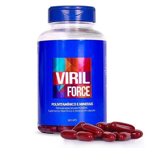 Viril Force Kit 8 meses - Polivitamínico Masculino