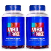Viril Force Kit 4 meses - Polivitamínico Masculino